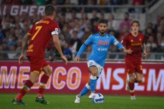 Lorenzo Insigne, match Roma AS Rome-Naples Napoli