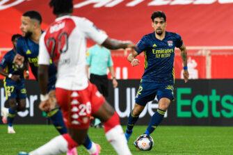 Lucas Paqueta, match AS Monaco - Lyon OL