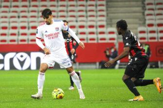 Lucas Paqueta, match OGC Nice - Lyon OL