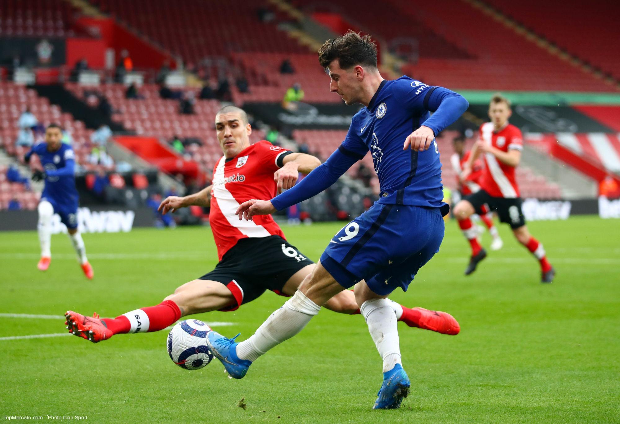Mason Mount, match Southampton - Chelsea