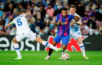 Memphis Depay, match Barça FC Barcelone-Dynamo Kiev