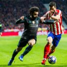 Mohamed Salah, match Atletico Madrid - Liverpool