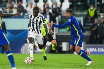 Moise Kean, match Juventus - Chelsea