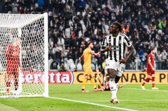 Moise Kean, match Juventus Turin-Roma AS Rome
