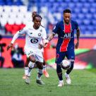 Neymar et Renato Sanches, match PSG - Lille LOSC