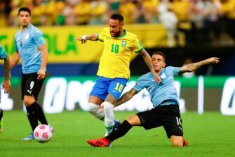 Neymar, match Brésil-Uruguay