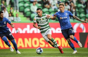 Pablo Sarabia, match Sporting Portugal-Maritimo