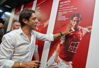 Rui Costa, Benfica Lisbonne