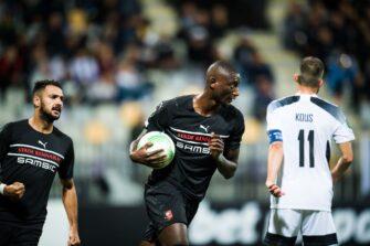 Serhou Guirassy, match Mura-SRFC Stade Rennais