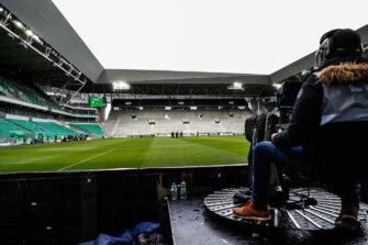 Stade Geoffroy-Guichard, ASSE, télévision