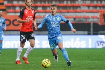 Valentin Rongier, match Lorient OM Marseille