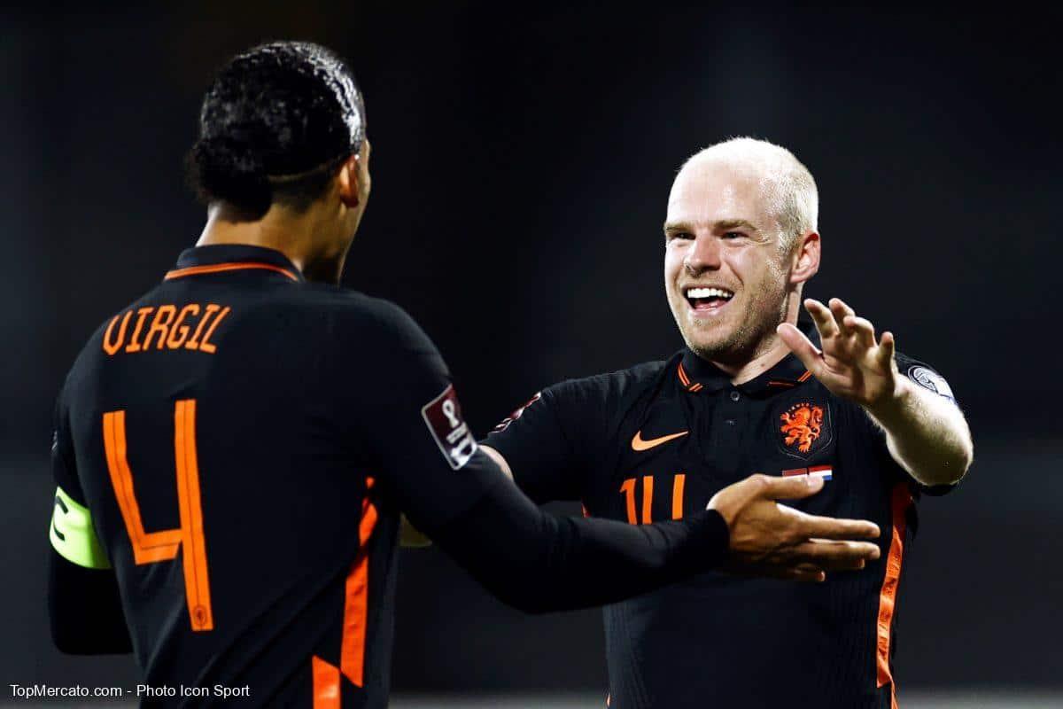 Virgil van Dijk et Davy Klaassen, Pays-Bas