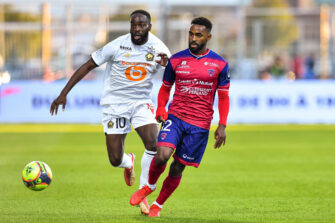 Vital Nsimba et Jonathan Ikoné, match Clermont-Lille LOSC