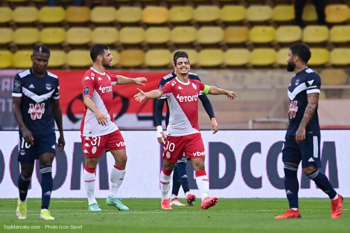 Wissam Ben Yedder et Kevin Volland, ASM AS Monaco Bordeaux