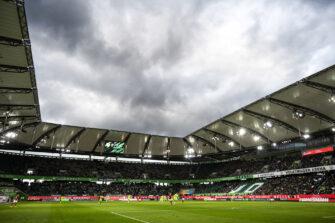 Wolfsburg, stade, illustration