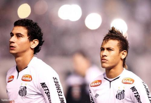 Ganso et Neymar