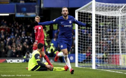 Higuain veut rester à Chelsea